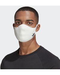 adidas Face Covers 3-Pack M/L - Bianco