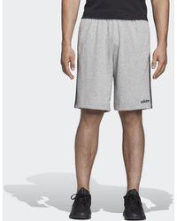 adidas - Short Essentials 3-Stripes French Terry - Lyst