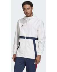 adidas TAN Windbreaker - Weiß