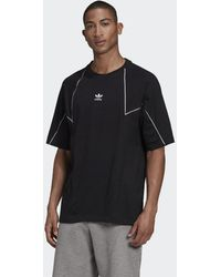 adidas Big Trefoil Abstract T-Shirt - Schwarz