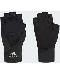 adidas 4athlts Handschoenen - Zwart