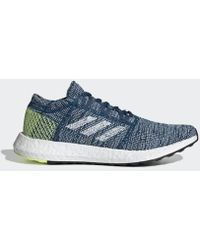 54cb92d15 Lyst - Adidas Pureboost Go Running Shoe in Blue for Men