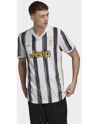 adidas Juventus 20/21 Authentiek Thuisshirt - Wit