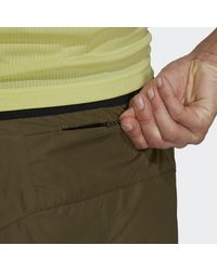 adidas TERREX Primeblue Trail Running Shorts - Grün