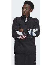 adidas Adicolor Polar Fleece Sweatshirt - Zwart