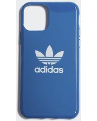 adidas Trefoil Iphone 11 Snapcase - Blauw