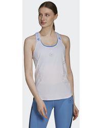 adidas Camiseta de tirantes by Stella McCartney TRUEPURPOSE Loose - Blanco