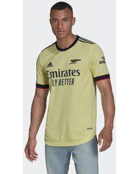 adidas Arsenal 21/22 Authentiek Uitshirt - Geel