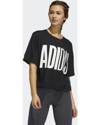adidas Universe T-shirt - Zwart