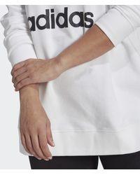 adidas Trefoil Sweatshirt (grote Maat) - Wit