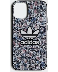 adidas Snap Case B Flower Iphone 12 Mini - Zwart
