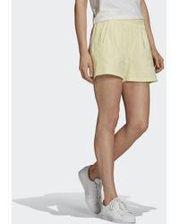 adidas Tennis Luxe 3-stripes Short - Geel