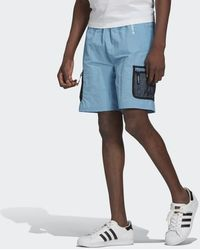 adidas Adventure Woven Cargo Shorts - Blue