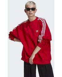 adidas Loungewear Adicolor Classics Oversize Sweatshirt - Rood