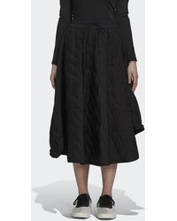 adidas Y-3 Cloud Quilted Skirt - Black