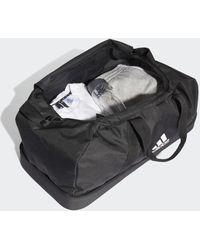 adidas Sac en toile Tiro Primegreen Bottom Compartment Grand format - Noir