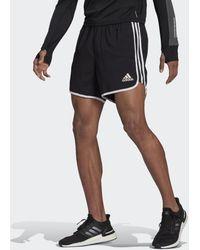 adidas Marathon 20 Primeblue Hardloopshort - Zwart