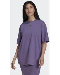 adidas Short Sleeve Tee - Purple
