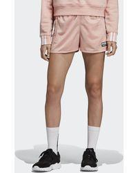 adidas Tape Short - Roze