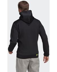 adidas Z.n.e. Sportswear Innovation Motion Ritshoodie - Zwart