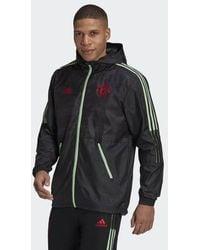 adidas Manchester United Windbreaker - Black