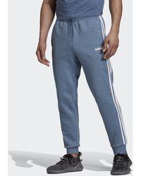adidas Pantalón Essentials Tapered Cuffed 3 bandas - Azul