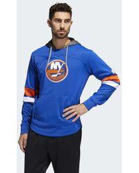 adidas - Islanders Platinum Jersey Hoodie - Lyst