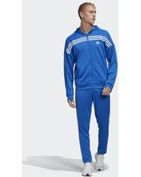 adidas MTS Trainingsanzug - Blau