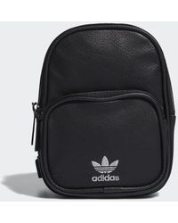 adidas - Faux Leather Mini Backpack - Lyst