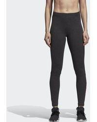 4900ff11eda1a adidas Fab Linear Tights (for Women) in Black - Lyst