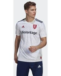 adidas Real Salt Lake 21/22 Away Jersey - White