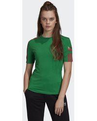 adidas Adicolor 3d Trefoil T-shirt - Groen