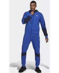 adidas MTS Cot Fleece - Blau