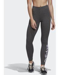 adidas Essentials Linear Legging - Grijs