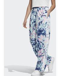 adidas Pantalon Satin - Bleu