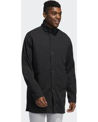 adidas Adipure 3/4 Modern Trench Coat - Black