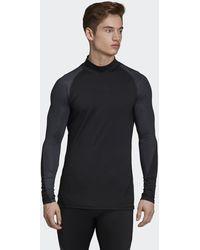 adidas Alphaskin Climawarm Shirt - Zwart