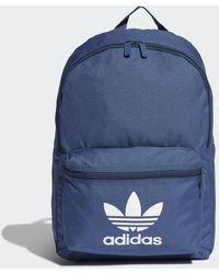 adidas Adicolor Classic Rugzak - Blauw