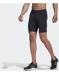 adidas Saturday Korte Legging - Zwart