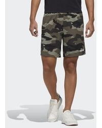 adidas Fast and Confident Allover Print Shorts - Grün