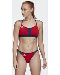 adidas All Me Beach Bikinioberteil - Rot