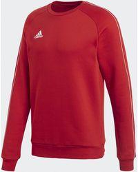 adidas Core 18 Sweatshirt - Red