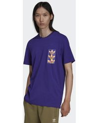 adidas Graphics Y2k T-shirt - Paars