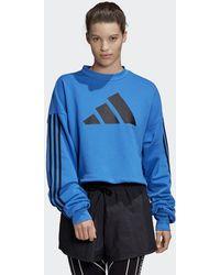 adidas Felpa Adjustable 3-Stripes - Blu
