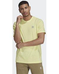 adidas Loungewear Adicolor Essentials Trefoil T-shirt - Geel