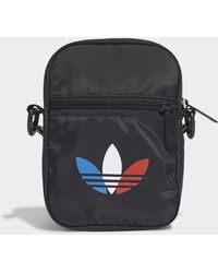 adidas Adicolor Tricolor Festival Bag - Black