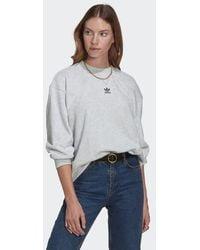 adidas Loungewear Adicolor Essentials Sweatshirt - Gray