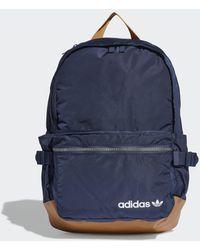 adidas Premium Essentials Modern Rucksack - Blau