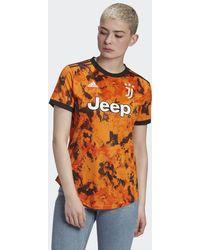 adidas Juventus 20/21 Authentiek Derde Shirt - Oranje