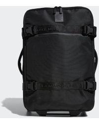 adidas Stadium Wheeled Bag - Black
